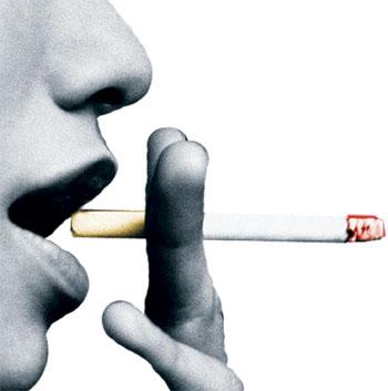 Congratulações fumantes deixadas